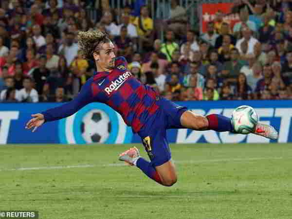 Barcelona thắng đậm 5-2 trước Real Betis trên sân nhà Nou Camp