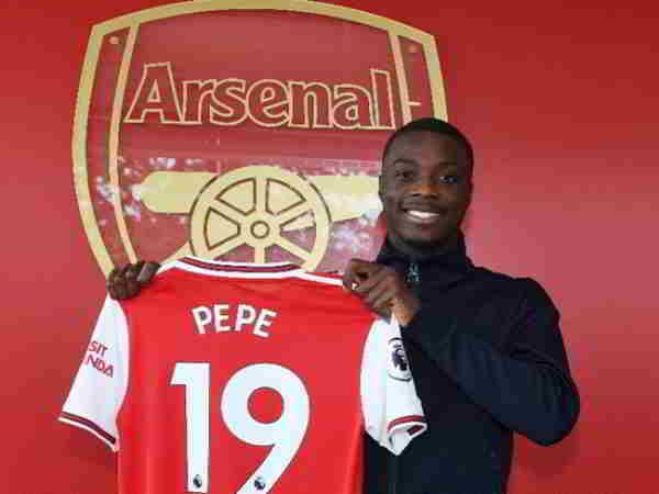 Nicolas Pepe đã chính thức thuộc quyền sở hữu của Arsenal