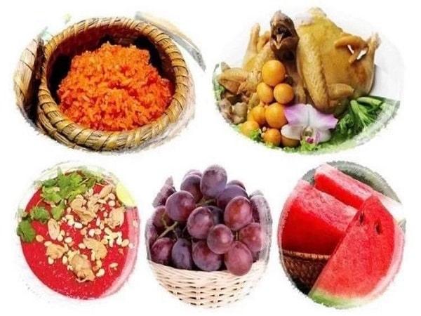 Nên ăn gì đầu tháng cho đỏ cả tháng nhỉ?
