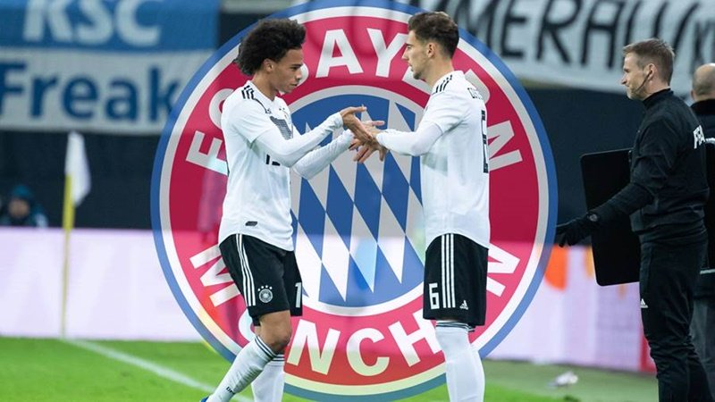 Hùm xám Bavaria đang gấp rút đưa Sane về Allianz Arena