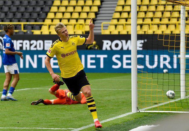 Haaland tiếp tục thi đấu ấn tượng giúp Dortmund đại thắng.