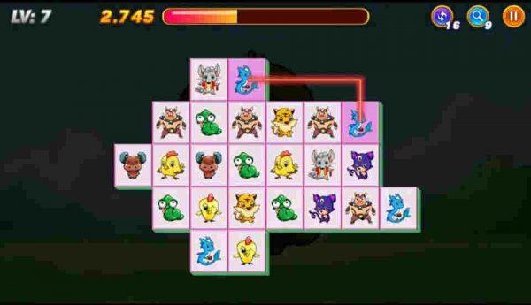 Hướng dẫn chơi Game pikachu - xếp hình pikachu cổ điển