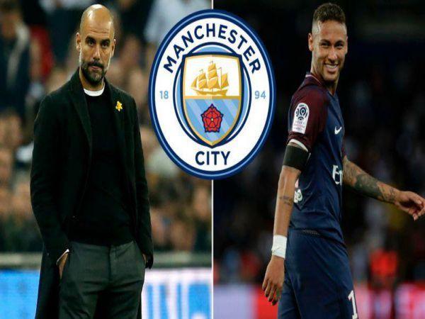 Pep Guardiola và Man City cũng muốn có sự phục vụ của Neymar