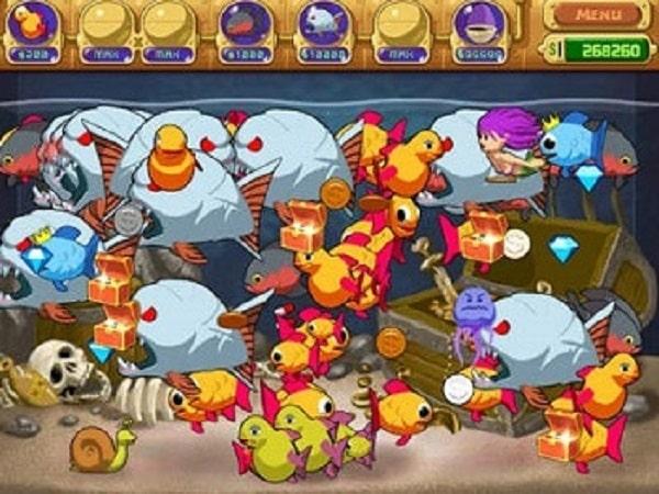 Hướng dẫn tải game nuôi cá đẻ tiền full - Insaniquarium Deluxe