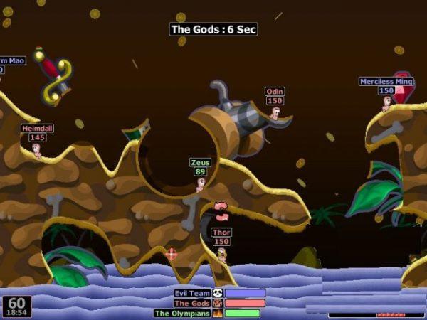 Hướng dẫn tải game worms world party - game bắn súng tọa độ