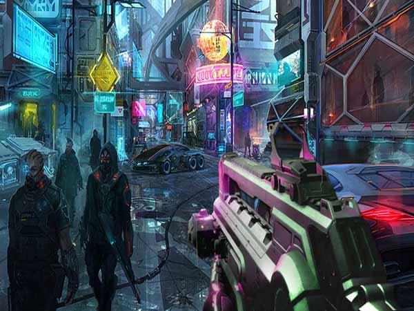 Game đồ họa Cyberpunk 2077