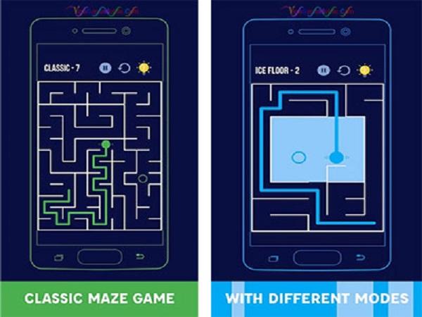 Giới thiệu về game mazes & more - game mê cung cổ điển
