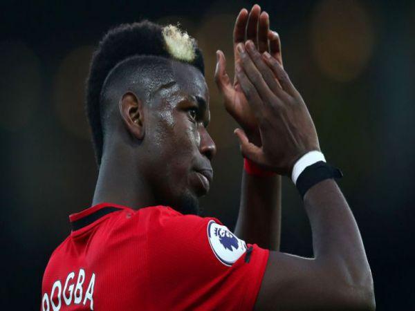 Tiền vệ Paul Pogba được xác định về tương lai sẽ không rời MU ở Hè năm nay