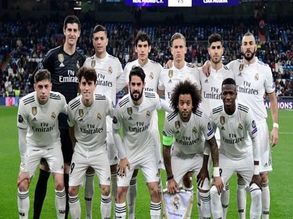 Đội hình của câu lạc bộ Real Madrid